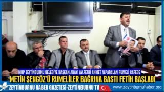 MHP Zeytinburnu MeclisÜyesi Metin Şengöz'ü Rumeli Camiası Bağrına Bastı