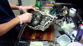 2. KTM 250 sxf engine rebuild