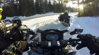 6. riding my uncles 2016 ski-doo 1200 4 stroke