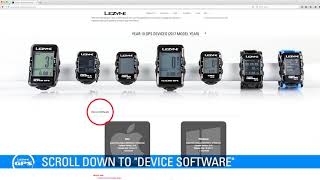 Lezyne GPS Firmware Update Tutorial