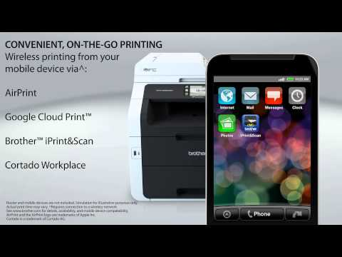 MFC-9330CDW | Digital Color All-in-One with Wireless Networking and Duplex Printing
