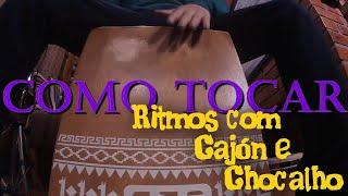 Como tocar cajón e chocalho - Ritmos fáceis para iniciantes - Pedro Alvez