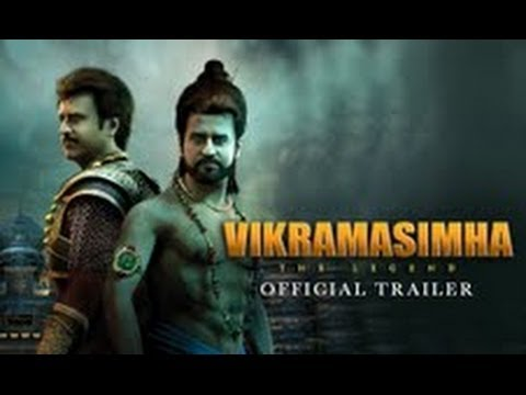 Vikramasimha - The Legend - Official Trailer ft. Rajinikanth, Deepika Padukone