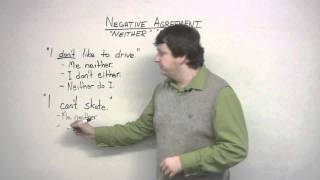 English Grammar - Either&Neither