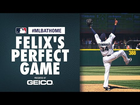 Felix Hernandez Perfecto! (Rays vs. Mariners,  8/15/12) | #MLBAtHome