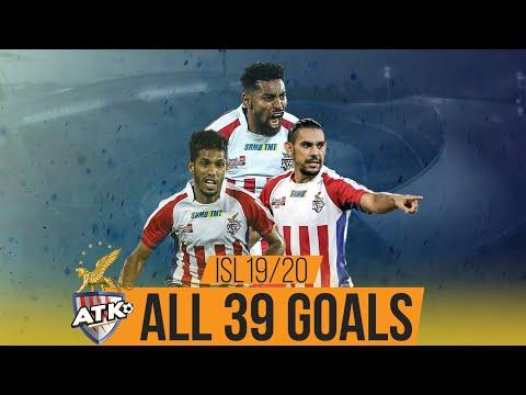 ISL 2019-20 All Goals: ATK ft. Roy Krishna and David Williams