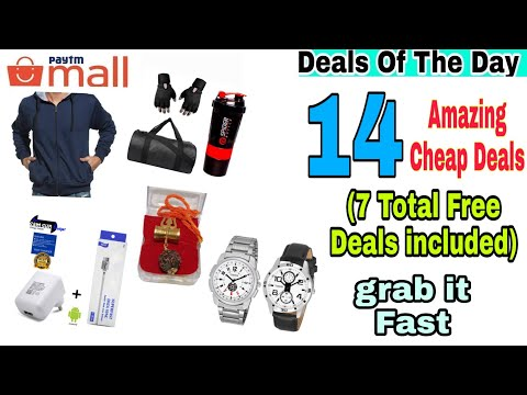 {8 dec} 7 Free+8 Cheap Deals On Paytm Mall To Grab Fast Today.