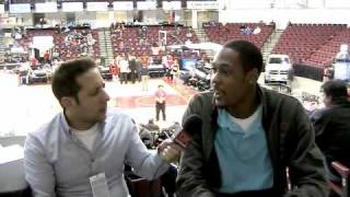Mickell Gladness Interview - 2010 D-League Showcase