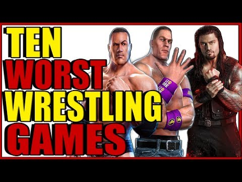 10 Worst WWE Wrestling Games