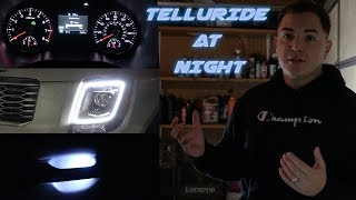 KIA TELLURIDE S  @  NIGHT + HIDDEN LEDs