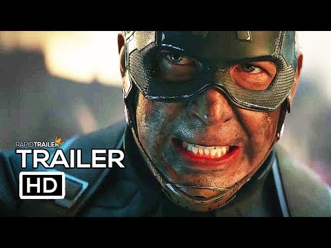 AVENGERS 4: ENDGAME Official Trailer #2 (2019) Marvel, Superhero Movie HD
