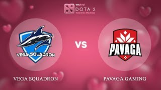 Vega Squadron vs Pavaga Gaming - RU @Map1 | Dota 2 Valentine Madness | WePlay!