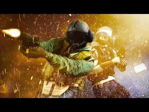 Rainbow Six Siege - Random Moments #38 (Recruit Fights, C4 Teleportation!) (видео)
