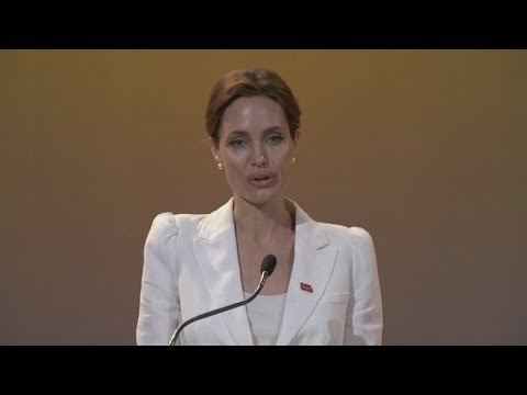 Angelina Jolie speech at opening of End Sexual Violence in Conflict summit