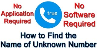 Nonton How To Find Name Of Unknown Caller Without Application Or Software Film Subtitle Indonesia Streaming Movie Download