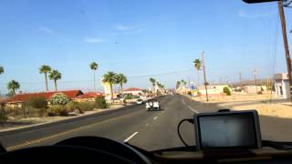 Twentynine Palms (CA) United States  city photos : Driving into Twentynine Palms, California
