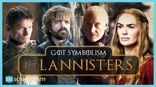 The second in our series on the deeper meaning of the Game of Thrones house symbols: find out more about the Lannister crimson & gold, their motto, and their animal, the lion. Sign up to our email newsletter for updates on new videos, fun film trivia, news on giveaways, longform content, events and more! http://bit.ly/2oVVB1QIf you like this video, subscribe to our YouTube channel for more: http://www.youtube.com/c/ScreenprismLike ScreenPrism on Facebook: http://www.facebook.com/screenprismFollow ScreenPrism on Twitter: http://twitter.com/screenprismVisit ScreenPrism.com: http://screenprism.com/