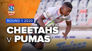 Cheetahs v Pumas Rd.1 2020 Super rugby unlocked video highlights