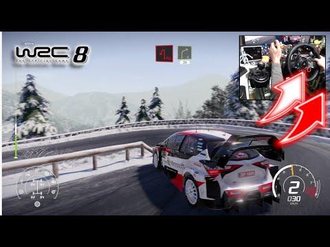WRC 8 Toyota Yaris WRC Monte Carlo / Logitech G29