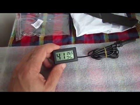 видео гигрометр своими руками