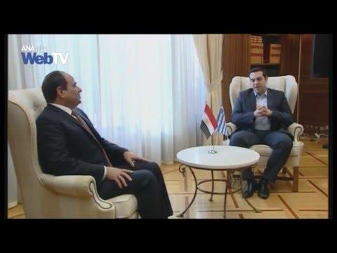 Αλ. Τσίπρας: Εγκαινιάζεται μια νέα περίοδος συνεργασίας μεταξύ Ελλάδας και Αιγύπτου