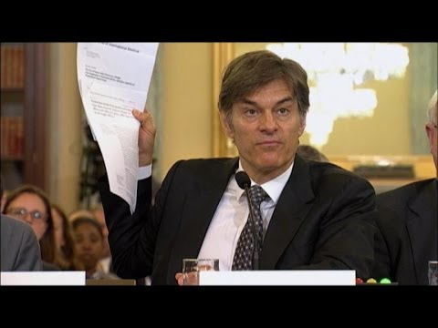 Dr. Oz Grilled on Capitol Hill for Weight-Loss Pills' Ad Language