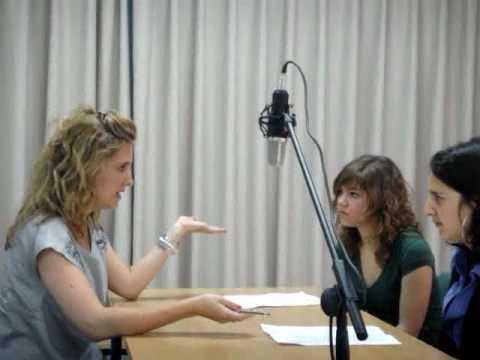 Entrevista en Inglés a Anna