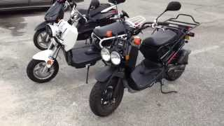 9. Honda Ruckus Vs Chinese 150cc Ruckus Clone Ruckus Scooter Knockoff