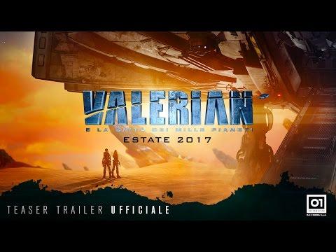 Preview Trailer Valerian e la Città dei mille pianeti, primo teaser trailer italiano