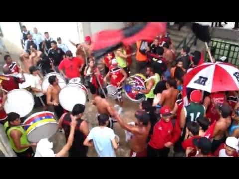 Barra del Caracas Fc en Yaracuy-Previa Parte 2 - Los Demonios Rojos - Caracas