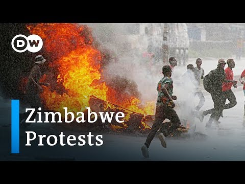 Hundreds arrested in Zimbabwe after fuel hike protests | DW News