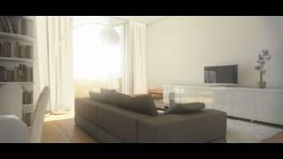 Video en 3D de una visita virtual de una vivienda, interiorismo de la empresa Plantea. Infografia an