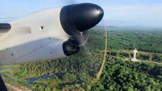 Chumphon Thailand  City pictures : Nok Air Q400 Takeoff Chumphon = Thailand 20 Years Ago. Wave!