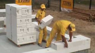 Ciepła ściana jednowarstwowa z betonu komórkowego YTONG ENERGO, odc. 1/2