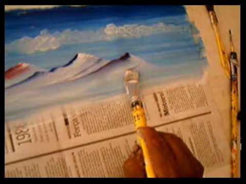 Técnicas de Pintura de Paisagens - Mestre Romildo parte II