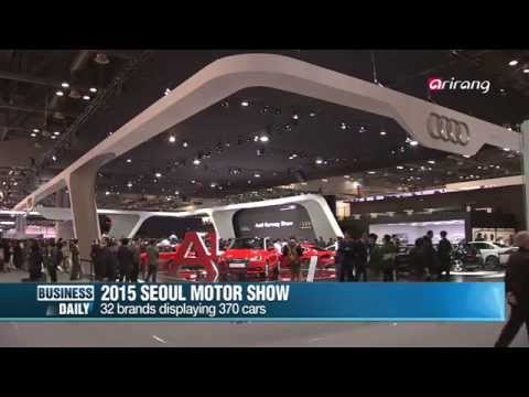 Business Daily Ep1 2015 SEOUL Motorshow,About this week's economic trends,서울 모터쇼,금주의 경제 동향은?