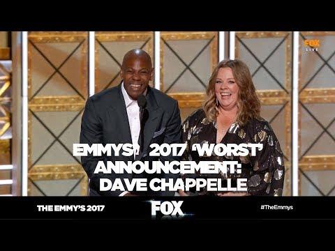 THE EMMY'S 2017   Dave Chapelle improvisation announcement   FOX