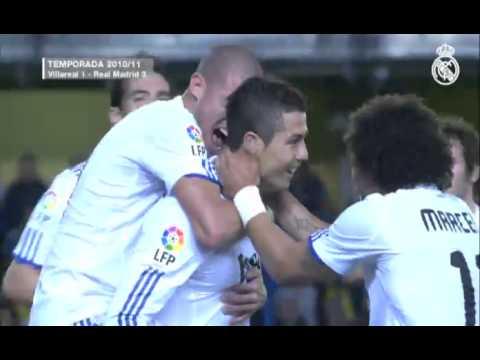 Cristiano Ronaldo, 10 buts face à Villarreal
