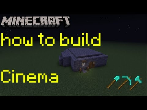 How to build 4 a minecraft cinema minecraft mansion tutorial