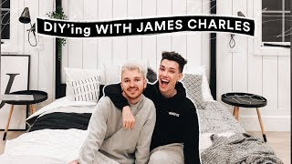 DIY Room Decor for James Charles! - Minimal + Aesthetic // Lone Fox