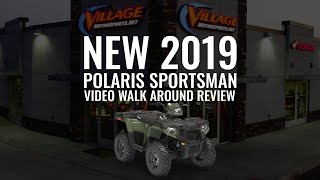 8. New 2019 Full Video Walk Around Review: The 2019 Polaris Sportsman 570 EPS Village Motorsports