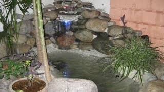 Nonton Diy Construct Small Fish Pond And Waterfall In Your Garden Film Subtitle Indonesia Streaming Movie Download