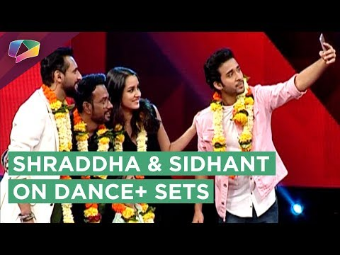 Shraddha Kapoor And Sidhant Kapoor On The Sets Of