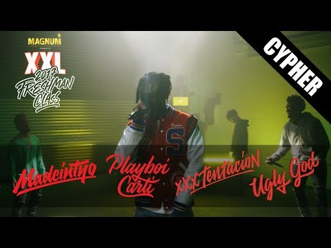 Video Playboi Carti, XXXTentacion, Ugly God and Madeintyo's 2017 XXL Freshman Cypher download in MP3, 3GP, MP4, WEBM, AVI, FLV January 2017