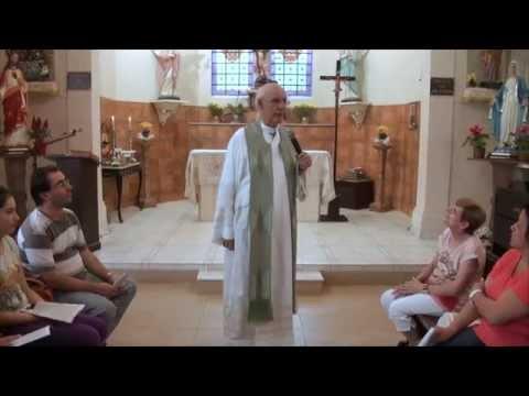 VÍDEO: Homilia do Pe. Julio em 18/01/2015 – 2º Domingo do Tempo Comum