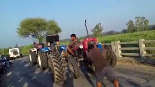 tractor tochan  massy vs sonalika vs swaraj 855  power of massy