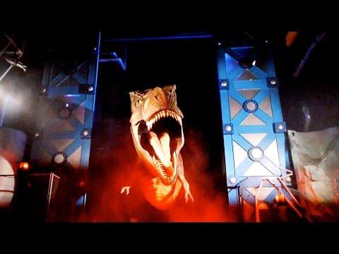 Jurassic Park The Ride POV Universal Studios Japan