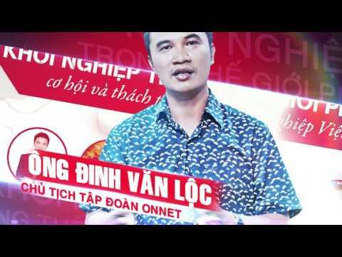 SỰ KIỆN LỚN NHẤT NĂM 2016 - KHỞI NGHIỆP TRONG THẾ GIỚI PHẲNG (Ngày 25/8)