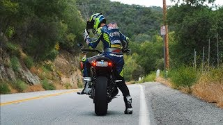 10. Street Riding Mulholland Canyon on XSR900!