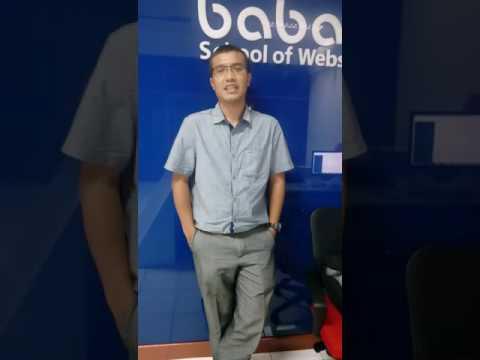 Deni Sundawa Seorang Entrepreneur Mengikuti Kursus WEB MASTER PLATINUM Untk Mengembangkan Usahanya
